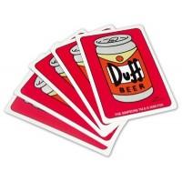 Simpsonovi: Hrací karty Duff
