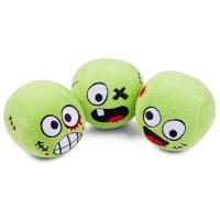 Žonglovací zombie hlavy