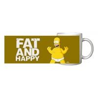 Simpsonovi: Hrnek Fat and Happy