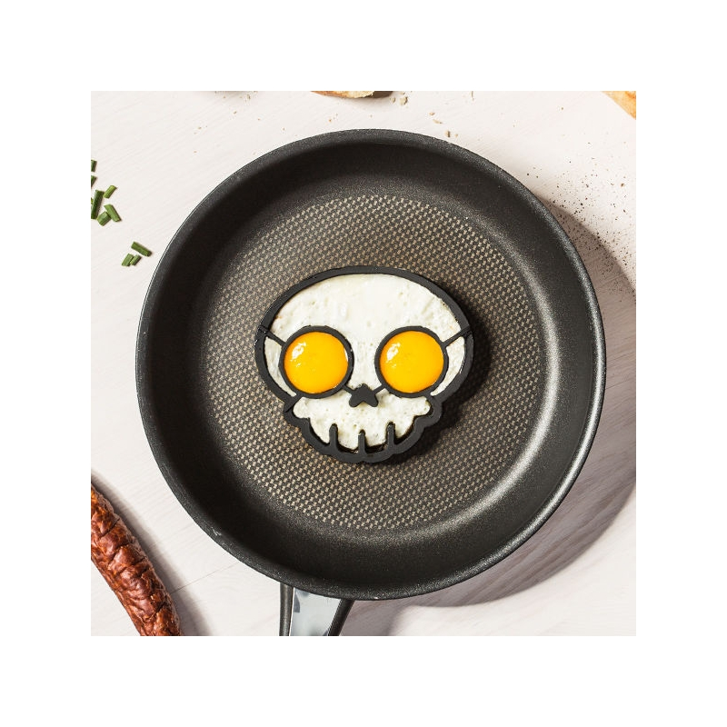 Forma na vajíčka - lebka