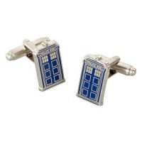 Doctor Who: Manžetové knoflíčky Tardis