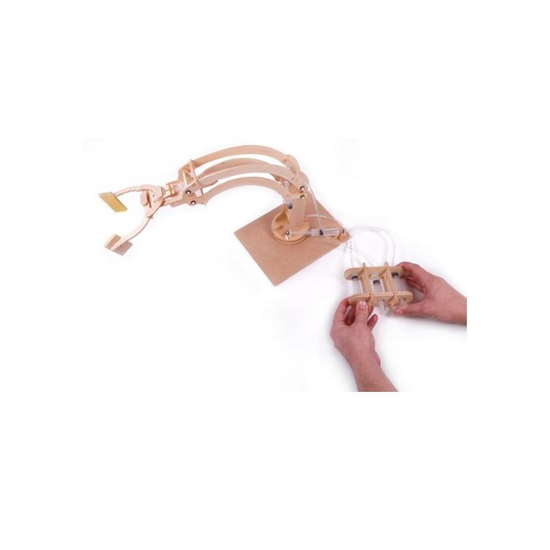 Hydraulická robotická ruka