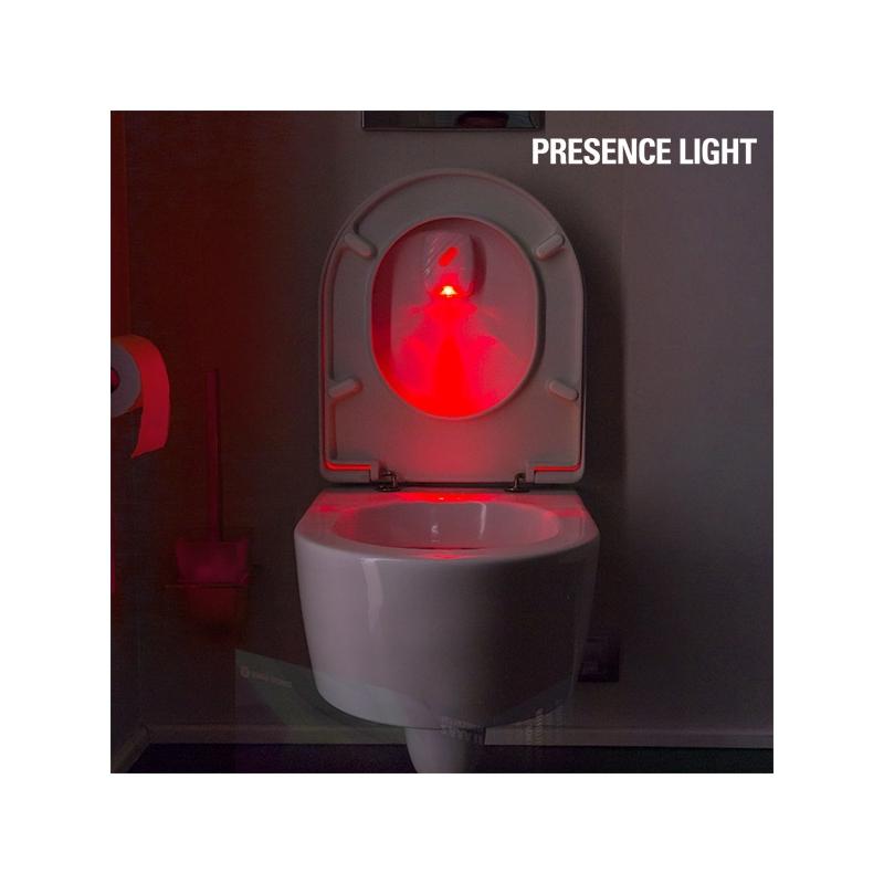 Lav Nav - osvětlení toalety