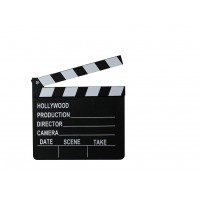 Hollywoodská filmová klapka
