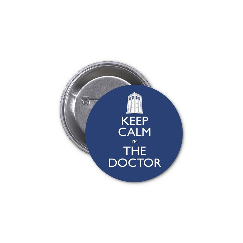 Doctor Who: Placka Keep Calm