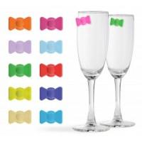 Mašličky na označování skleniček