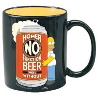 Homerův hrnek: Nemůžu fungovat bez piva