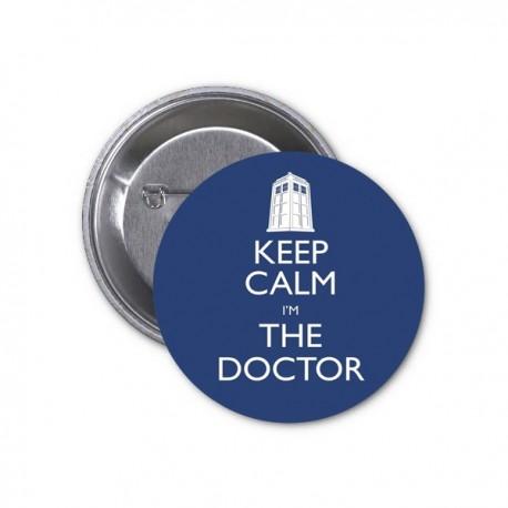 Doctor Who: Placka Keep calm