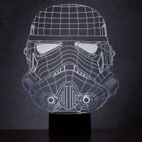 Stormtrooper drátěná lampa