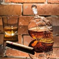 Křišťálová lebka na alkohol 0,4l