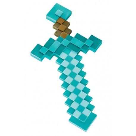 Minecraft diamantový meč - replika