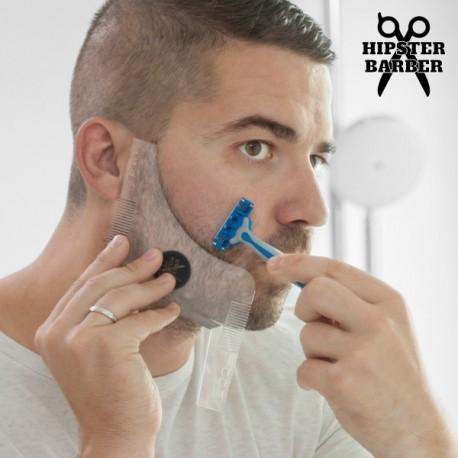 Hipster Barber šablona