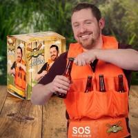 Pivní záchranná vesta