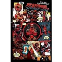 Plakát Deadpool - Panels