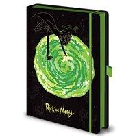 Zápisník Rick a Morty - Portál