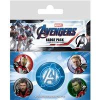 Sada placek Avengers: Endgame - Quantum Realm Suits