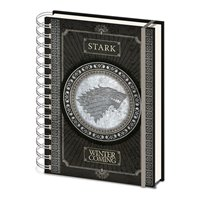 Zápisník Game of Thrones - Stark Logo