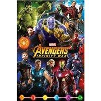 Plakát Avengers: Infinity War - Postavy