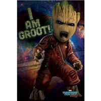 Plakát Guardians of the Galaxy 2 - Angry