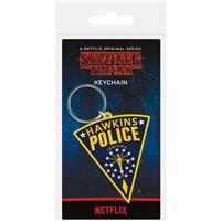 Klíčenka Stranger Things - Hawkins Police Patch