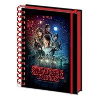 Zápisník Stranger Things - One Sheet