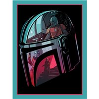 Obraz Star Wars: Mandalorian - Helmet Section