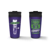 Cestovní hrnek Joker - Straight Outta Arkham