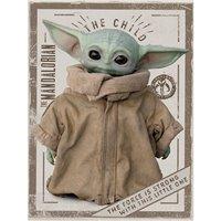 Obraz na plátně Star Wars: Mandalorian - The Child
