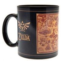 Hrnek The Legend of Zelda - Mapa, měnící se