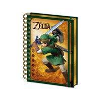Zápisník The Legend of Zelda - Link 3D