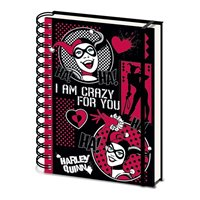 Zápisník Harley Quinn - I Am Crazy For You