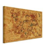 Obraz Legend of Zelda - Hyrule World Map