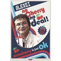Plakát Stranger Things - No Cherry No Deal
