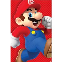 Plakát Super Mario - Run