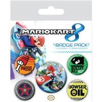 Sada placek Mario Kart 8