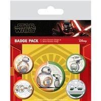 Sada placek Star Wars: Rise of Skywalker - Droids
