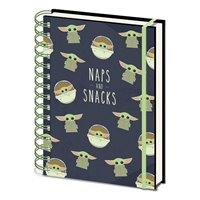 Zápisník Star Wars: Mandalorian - Snacks And Naps