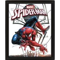 Obraz Marvel - Spider-Man / Venom 3D