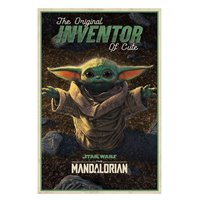 Plakát Star Wars: Mandalorian - Inventor of Cute