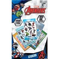 Sada samolepek Marvel: Avengers - Power (800 ks)