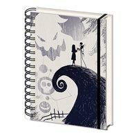 Zápisník Nightmare Before Christmas