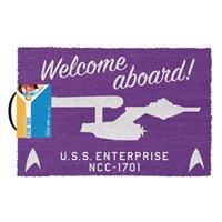 Rohožka Star Trek - Welcome Aboard!