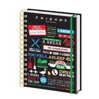Zápisník Friends - Symboly
