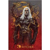 Plakát Zaklínač - Vlk Geralt (Netflix)