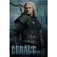 Plakát Zaklínač - Geralt z Rivie (Netflix)