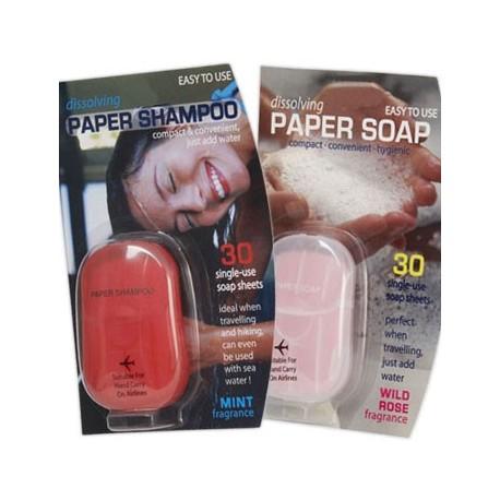 Papírová hygiena na cesty