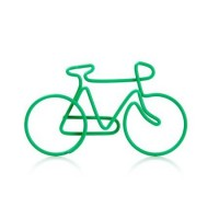 Cyklistické kancelářské svorky