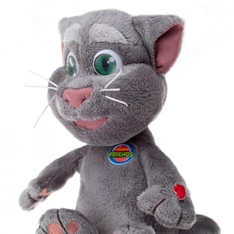 говорящий кот игрушка картинки загорелась